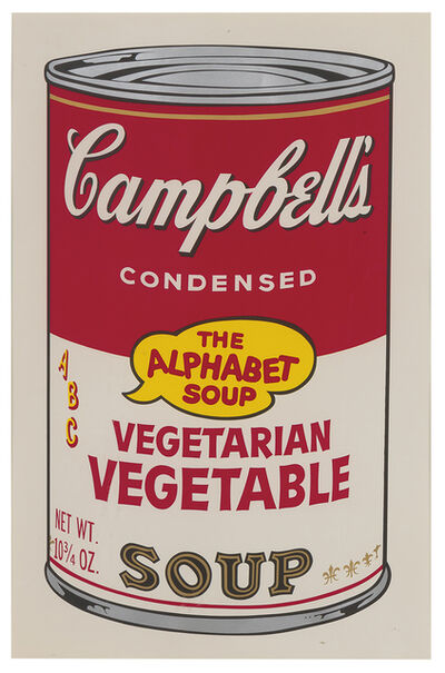 Andy Warhol, 'Campbell's Soup II, Vegetarian Vegetable F&S II.56', 1969