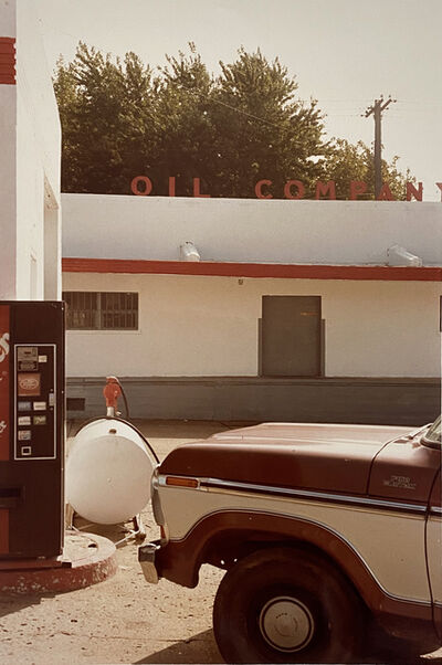 William Eggleston, 'Brown Truck, Oil Company', 1980s