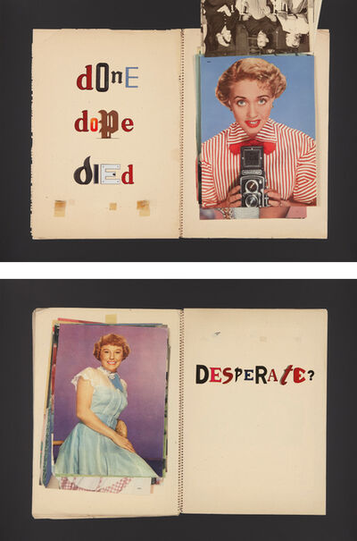 Jack Pierson, 'Done, Dope, Died; and Desperate?', 2011