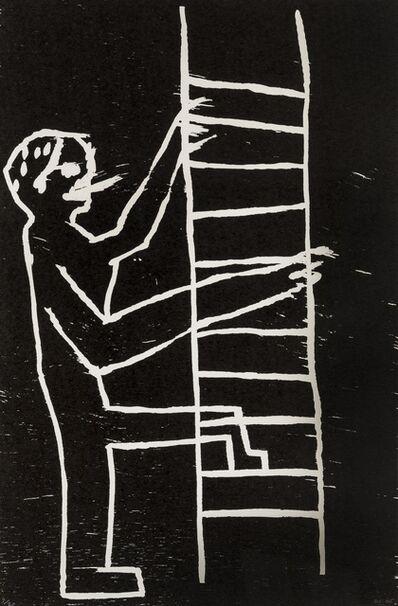 David Shrigley, 'Untitled (Man Climbing)', 2005