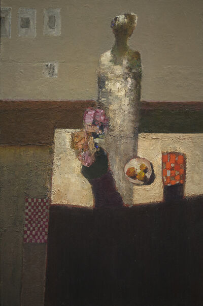 Dan McCaw, 'Figure at Table', 2018