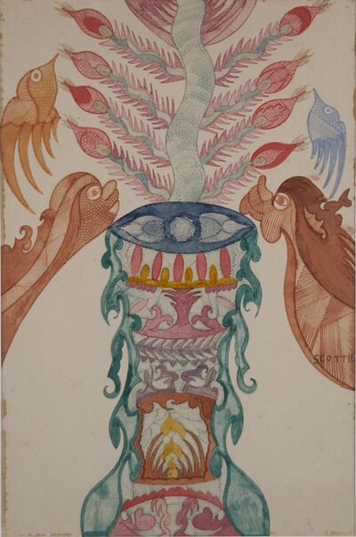 Scottie Wilson, 'Untitled', n.d.