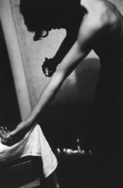 "Larry Clark, 'Skip Tapping Vein (from the series ""Tulsa"")', 1971"