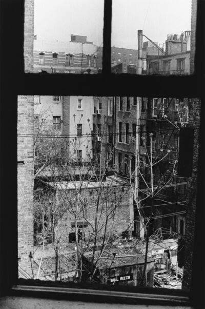 Allen Ginsberg, 'Looking out kitchen window.', 1997