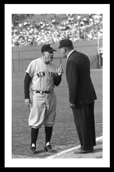 Neil Leifer, 'Casey Stengel Argues With Umpire', 1960