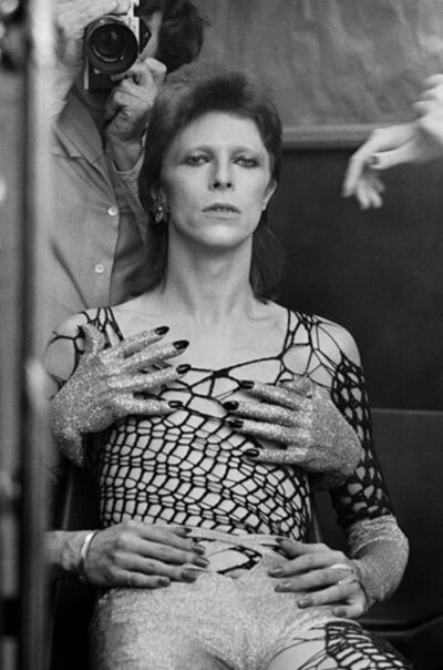 Terry O'Neill, 'Ziggy Stardust Backstage', 1973