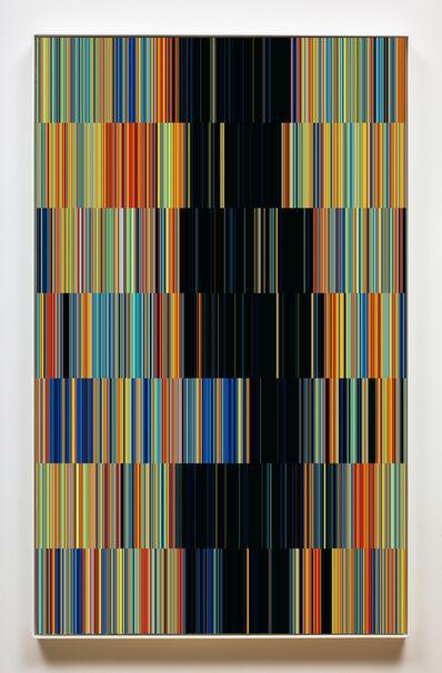 Susan Morris, 'SunDial:NightWatch_Drawing for Tapestry_ One random week in 2010', 2016