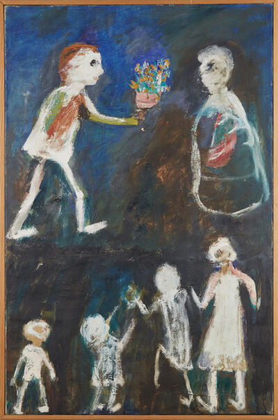 Jon Serl, 'For Teacher Upstairs', 1986