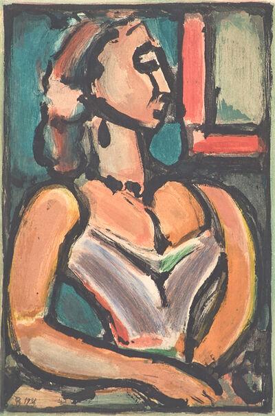 Georges Rouault, 'Femme Fière from Les Fleurs du Mal', 1938