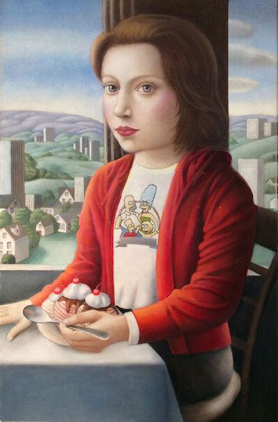 Amy Hill, 'Girl with Sundae', 2020