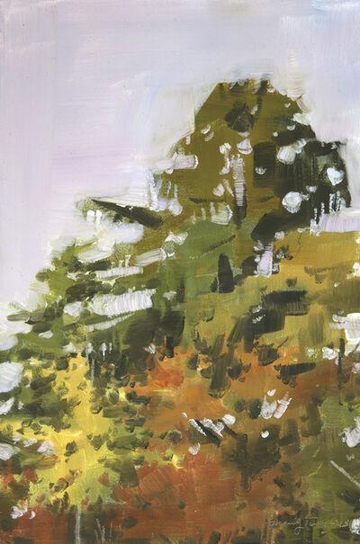 Marilyn Turtz, 'Late Afternoon Treetops '