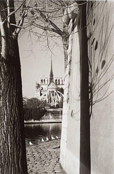 André Kertész, 'Paris, Notre Dame', years 1960