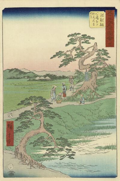 Utagawa Hiroshige (Andō Hiroshige), 'Chiryu', 1855