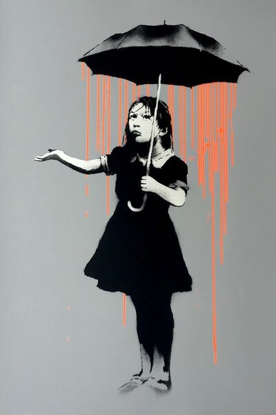 Banksy, 'Nola (Orange Rain) - Signed ', 2008