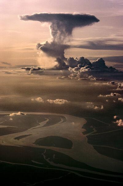 Steve McCurry, 'Monsoon skies over Bihar, India', 1983
