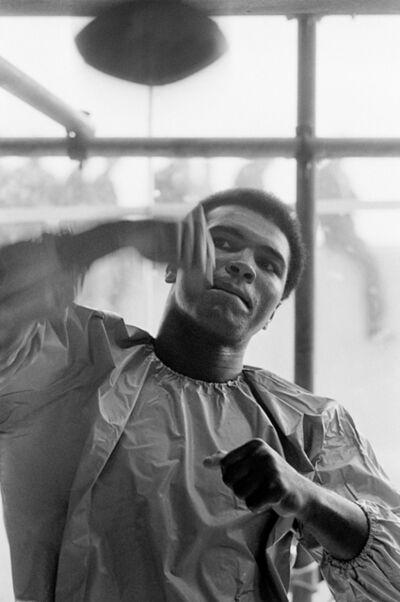 Terry O'Neill, 'Muhammad Ali, Speedbag', 1972