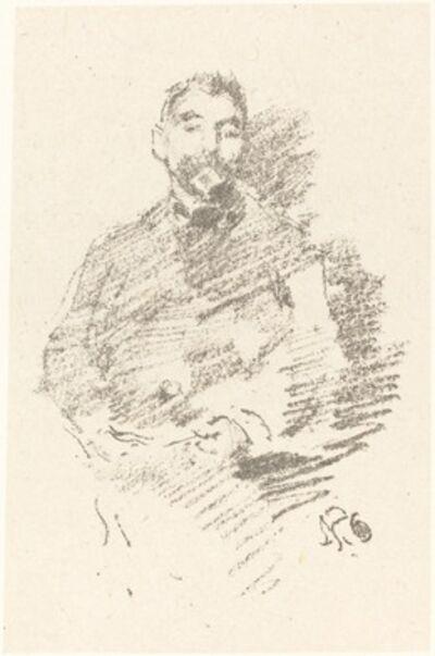 James Abbott McNeill Whistler, 'Stéphane Mallarmé', 1894