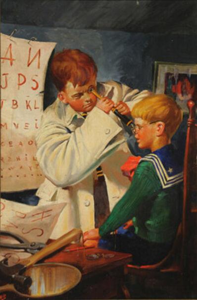 Robert Riggs, 'Playing Optician'