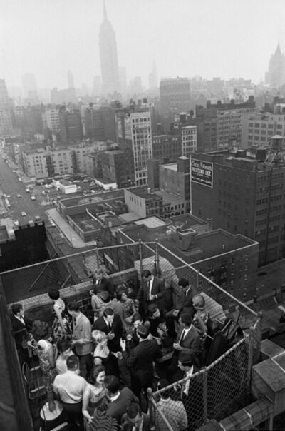 Henri Dauman, 'Rooftop living in NYC', 1966