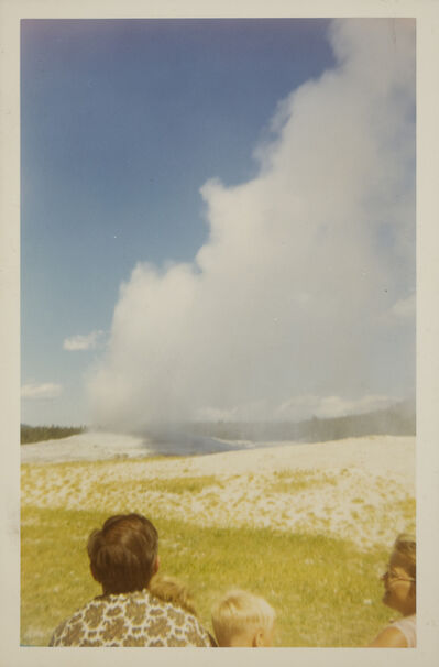 Unknown Artist, 'Old Faithful geyser, Yellowstone National Park', August 1968