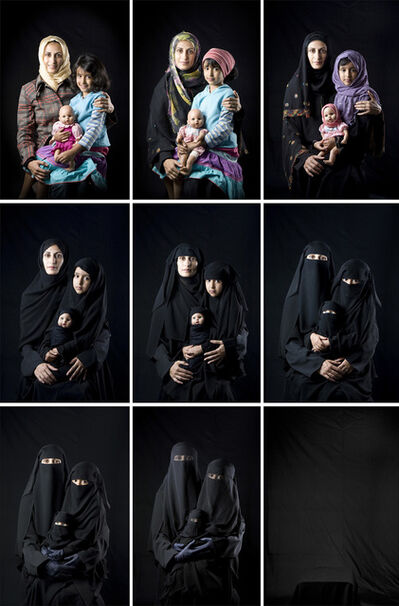 13 photographers from the middle east, 'Boushra Almutawakel From the series 'Mother, Daughter and Doll', 2010