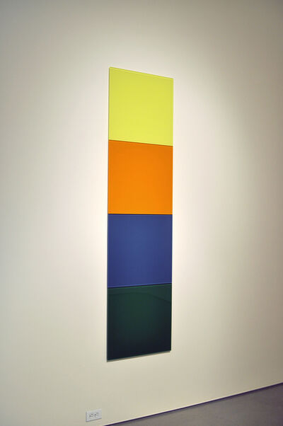 Thór Vigfússon, 'Untitled (lemon yellow, yellow orange, azure blue, leaf green)', 2011