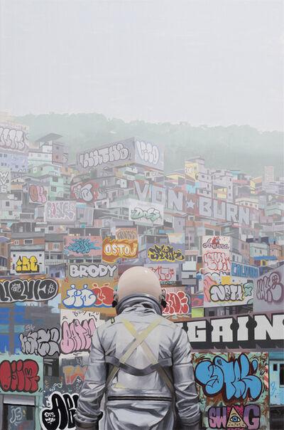Scott Listfield, 'Graffitti City', 2017