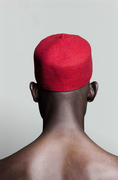 Lakin Ogunbanwo, 'Untitled (Red Hat)', 2015