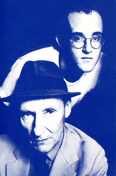Keith Haring, 'Keith Haring and William S. Burroughs 'Apocalypse' announcement ', 1990