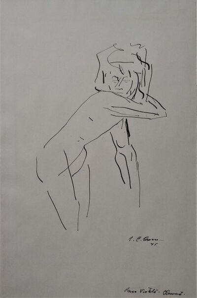 José Clemente Orozco, 'Female Nude', 1945