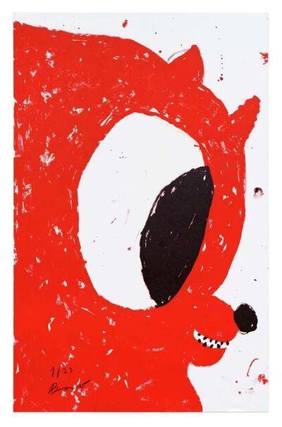 Szabolcs Bozó, 'RED NICOLAS', 2020