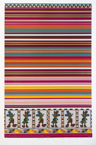 Eduardo Paolozzi, 'Horizon of Expectations', 1967