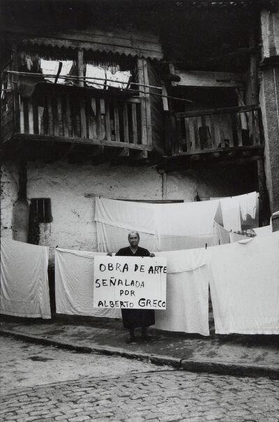Alberto Greco, 'Alberto Greco en Piedralaves', 1963