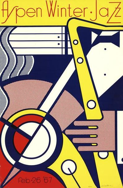 Roy Lichtenstein, 'Aspen Winter Jazz', 1967