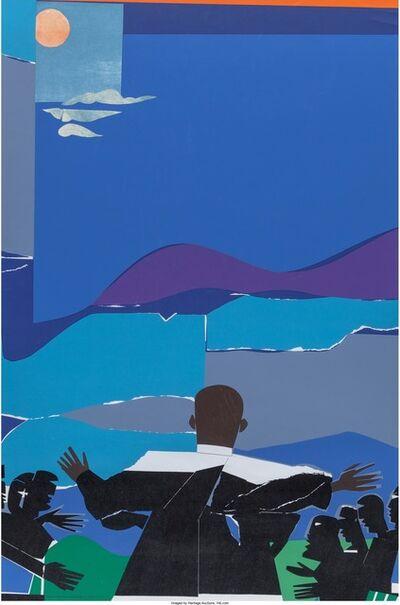 Romare Bearden, 'Martin Luther King Jr. - Mountain Top', 1968
