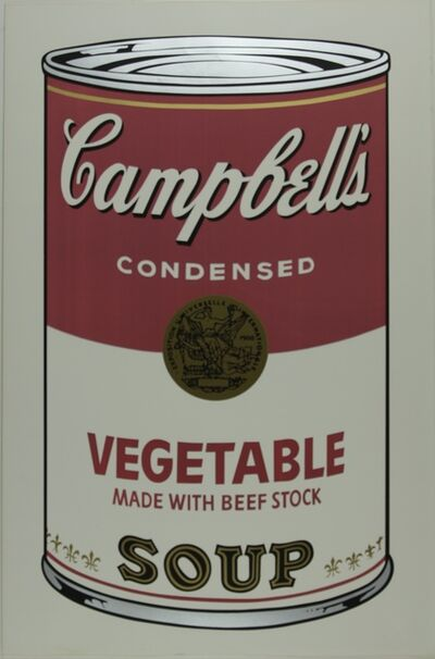 Andy Warhol, 'Campbell's Soup I, Vegetable F&S II.48', 1968