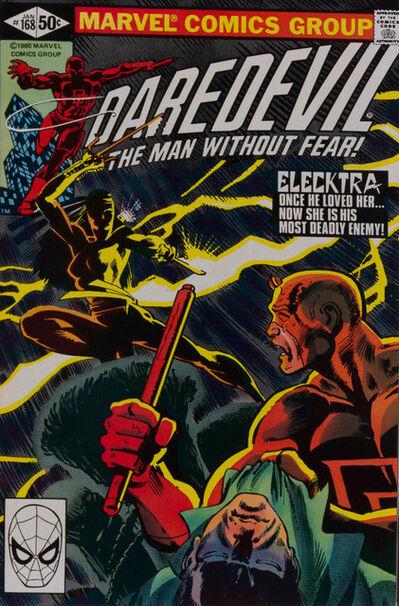 Unknown, 'Daredevil #168', 1981