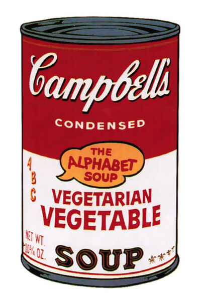 Andy Warhol, 'Campbell's Soup II: Vegetarian Vegetable [II.56]', 1969