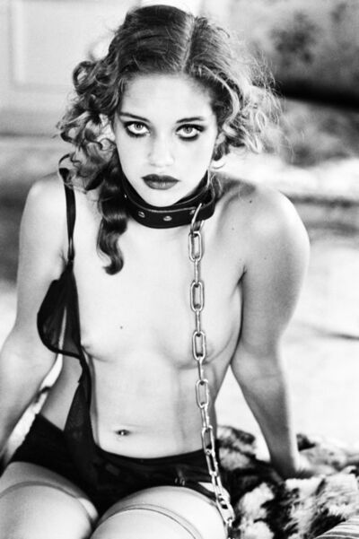 Ellen von Unwerth, 'Girl in chain'