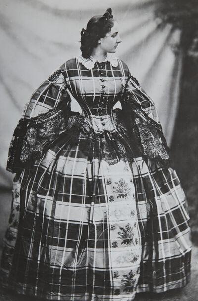 Pierre-Louis Pierson, 'La Comtesse de Castiglione - La robe écossaise', 1859