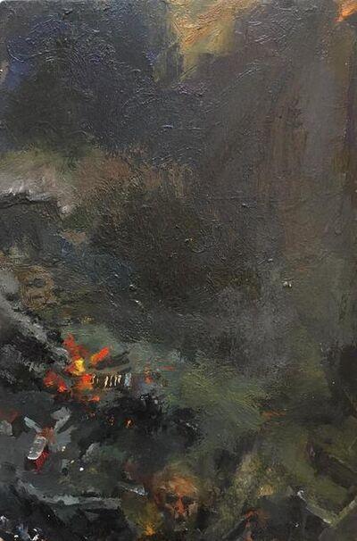 Susanna Coffey, 'Self-Portrait with Fire Fighter', 2014