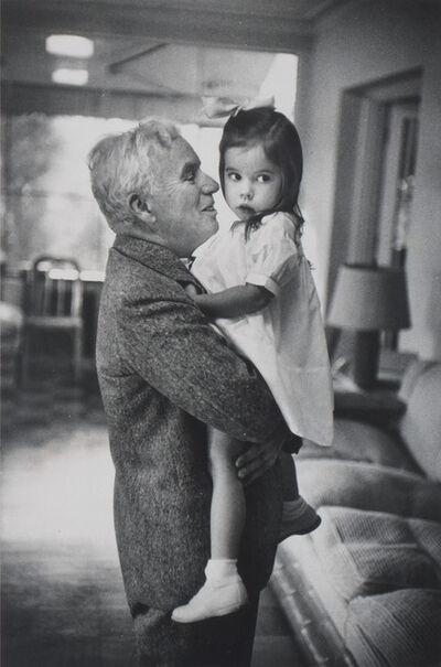 W. Eugene Smith, 'Chaplin and Oona', 1947