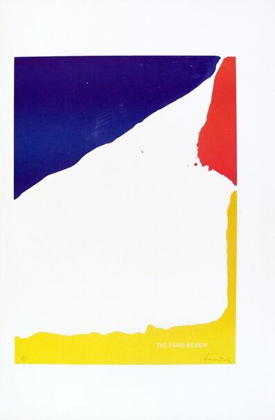 Helen Frankenthaler, 'Paris Review', 1965