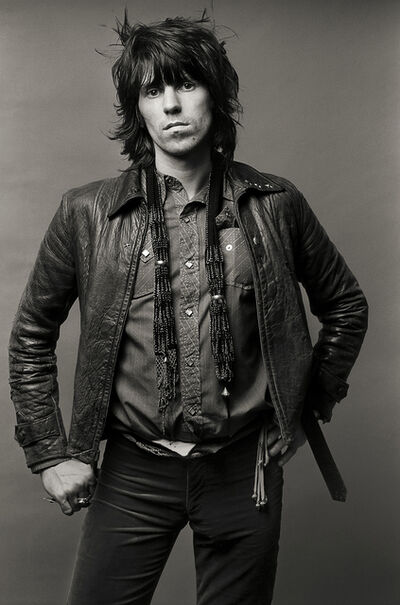 "Norman Seeff, 'Keith Richards, Los Angeles, (""Exile's OK"")', 1972"