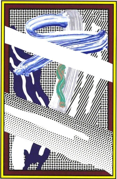 Roy Lichtenstein, 'Reflections on Expressionist Painting', 1990