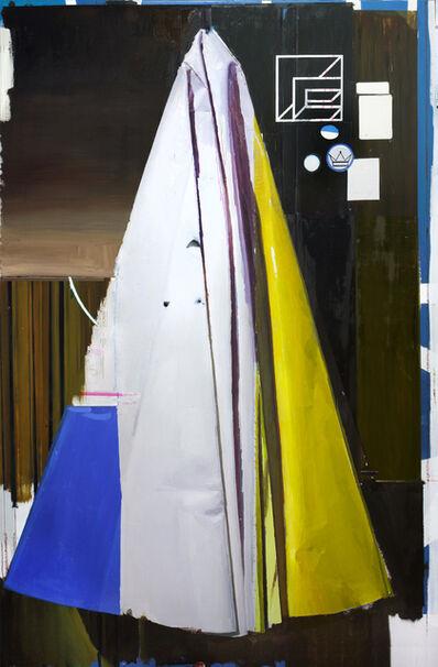 Rubén Guerrero, 'Composición con amarillo p.m.', 2015