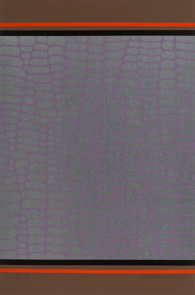 Paul Maxwell, 'Untitled (Purple and Brown Web)', 1978
