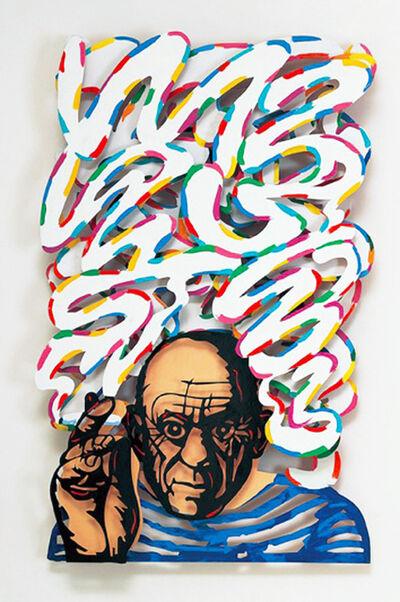 David Gerstein, ' The last great smoker (Picasso) ',  2007