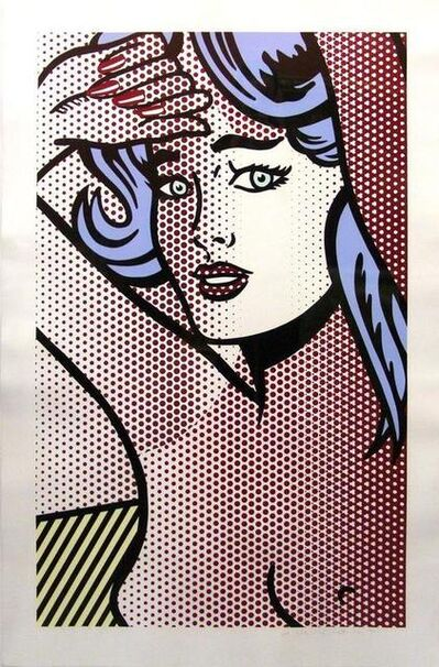 Roy Lichtenstein, 'Nude with Blue Hair (C.286) ', 1994