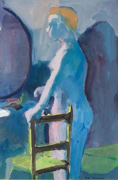 Paul Wonner, 'The Model Before a Mirror', 1962
